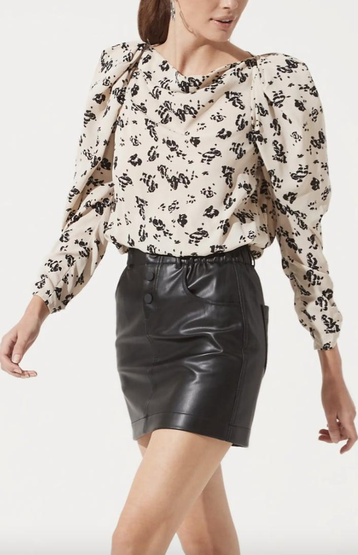 <p>We love the dramatic sleeves of this <span>ASTR the Label Puff Sleeve Top</span> ($59).</p>