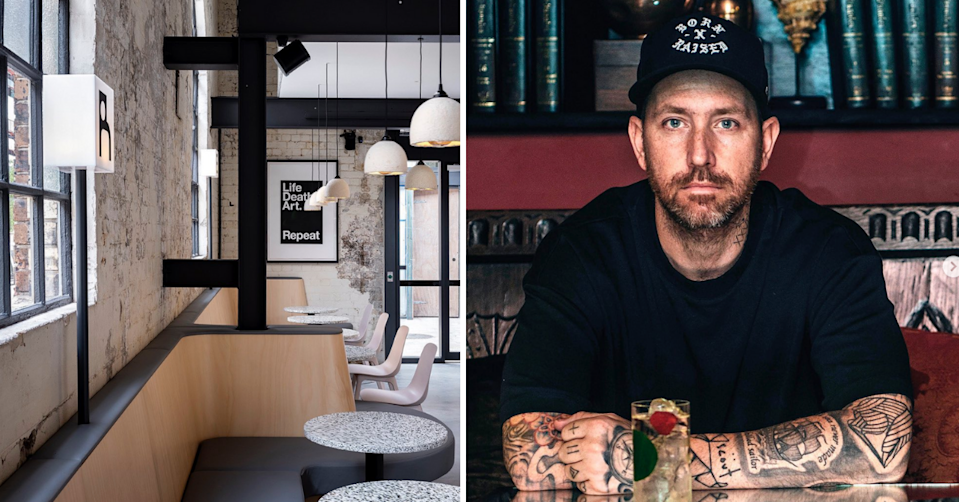 Matt Whiley has launched the world's first regenerative bar. (Images via South Eveleigh).