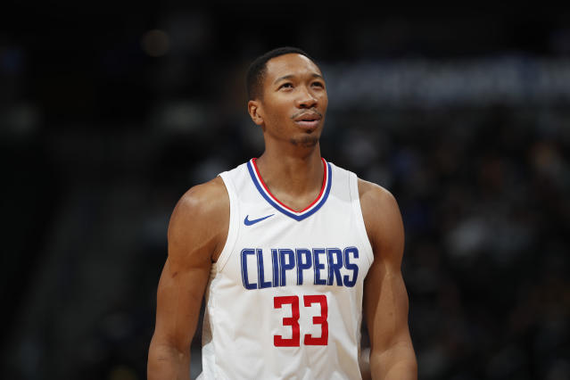 Wesley Johnson has played eight NBA seasons, including the past three with the Clippers. (AP)