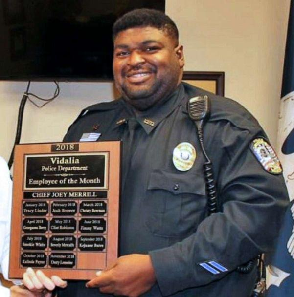 PHOTO: Kejuane Bates, a pastor and police officer in Louisiana, passed away due to the coronavirus on April 1, 2020. (Vidalia Police Department)
