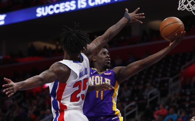 Jrue Holiday is averaging 19.2 points this season. (AP)
