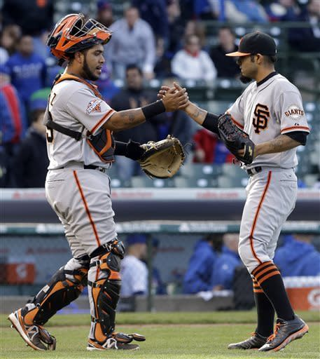Jackson, Bowden tie WP mark, Giants beat Cubs 10-7