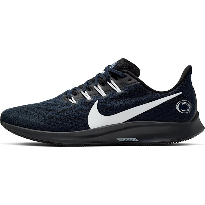 Men's Nike Navy/White Penn State Nittany Lions Air Zoom Pegasus 36 Sneakers