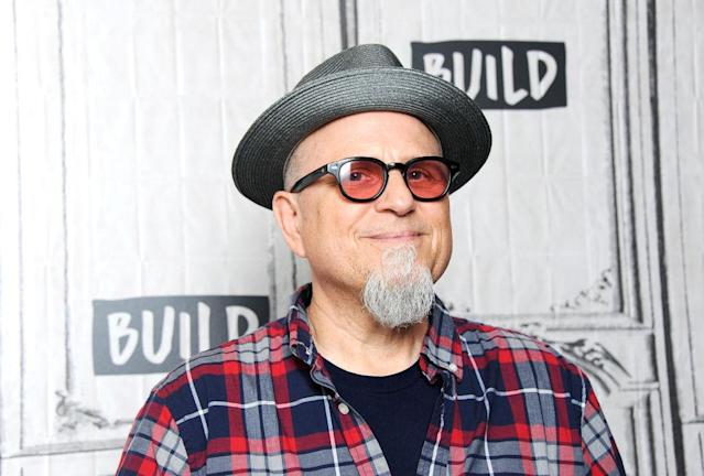 Bobcat Goldthwait visits Build Series on July 17 in NYC. (Photo: Desiree Navarro/WireImage)