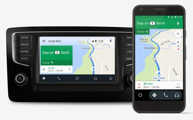 Android Auto gains 'OK Google' functionality so you can talk to your on