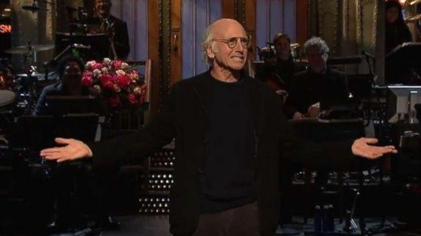 PHOTO: Larry David performs stand-up monologue on 'Saturday Night Live.' (SNL/NBC)