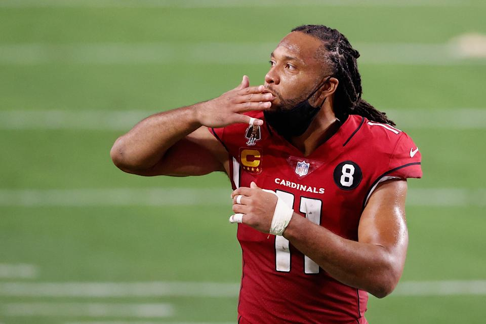 Larry Fitzgerald undecided on returning to NFL.