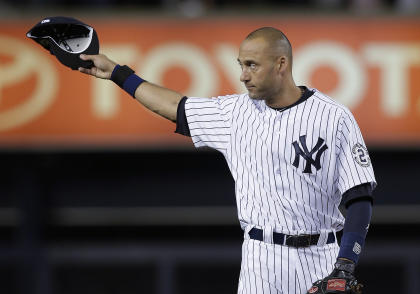 Jeter left Yankees fans with one more lasting memory. (AP)