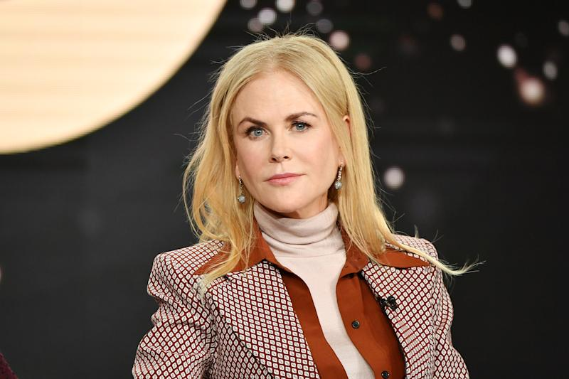 "Nicole Kidman of ""The Undoing"" speaks during the HBO segment of the 2020 Winter TCA Press Tour at The Langham Huntington, Pasadena on January 15, 2020 in Pasadena, California."