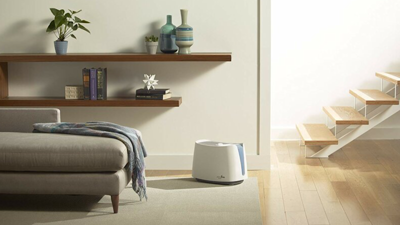 This Honeywell humidifier pulls double duty.