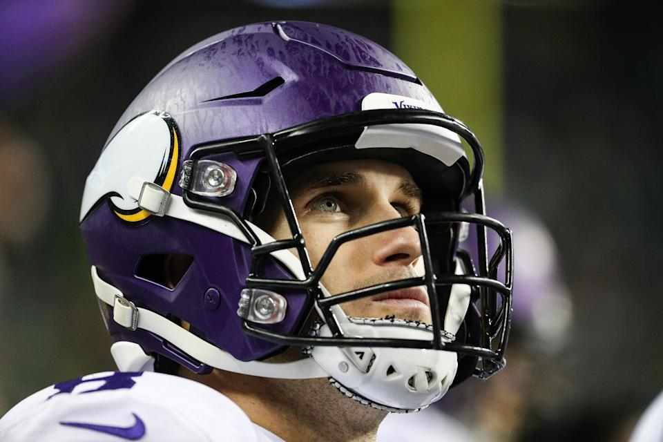 Kirk Cousins and the Vikings are 0-5 against teams that are currently on pace to make the playoffs. (Getty Images)