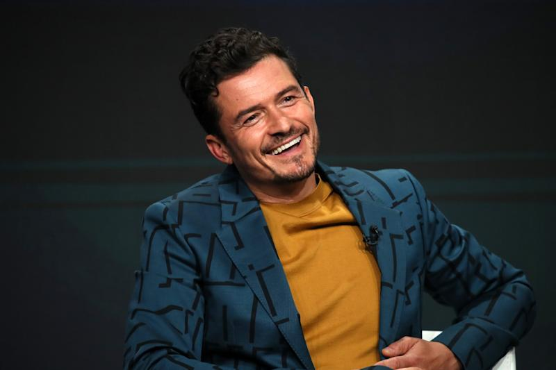 Orlando Bloom talks about his new Amazon fantasy series,