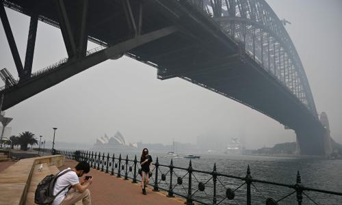 Australia is choking on smoke – so are air purifiers the answer?