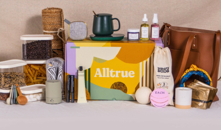 """<p>This is the perfect box for those who are into all things sustainable, eco-conscious and ethically sourced and made. Boxes come quarterly and are filled with jewelry, accessories, homewares, clean beauty products and more. In addition, members can choose add-on items for 20% to 70% off retail.</p><p><strong>Price: </strong>starts at $50/box for one year of six to eight boxes</p><p><a class=""""link rapid-noclick-resp"""" href=""""https://alltrue.com/"""" rel=""""nofollow noopener"""" target=""""_blank"""" data-ylk=""""slk:BUY NOW"""">BUY NOW</a></p><p><strong>RELATED:</strong> <a href=""""https://www.goodhousekeeping.com/holidays/gift-ideas/g30188103/eco-friendly-gifts/"""" rel=""""nofollow noopener"""" target=""""_blank"""" data-ylk=""""slk:20 Eco-Friendly Gifts for a Greener Holiday"""" class=""""link rapid-noclick-resp"""">20 Eco-Friendly Gifts for a Greener Holiday</a></p>"""