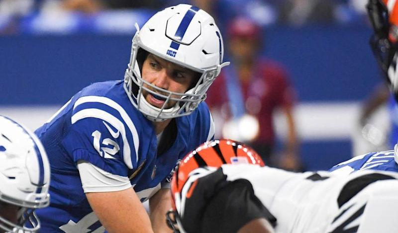 029f4ba1317 Bengals win a wild one as Andrew Luck comeback attempt falls short