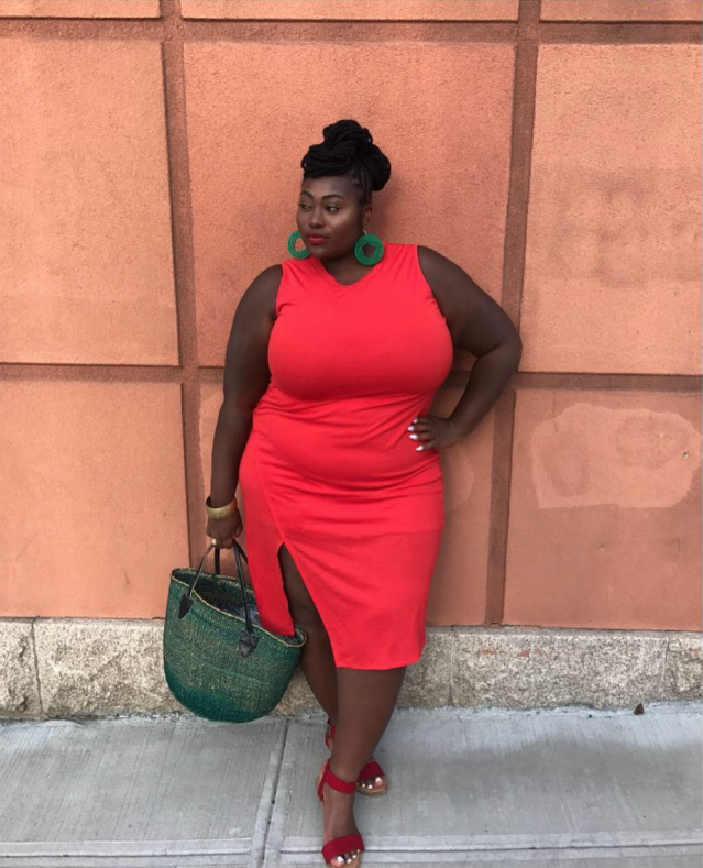 """<p>Jezra M. is a plus-size model and blogger whose goal is to help women """"gain self-love, self-awareness and self-confidence."""" She's modeled for brands that include Forever 21 and Curve Culture. (Photo: Instagram/jezra_m) </p>"""