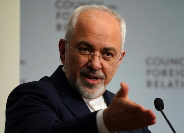 "Iran's Foreign Minister Mohammad Javad Zarif accused the US of transforming the Gulf into a ""tinderbox"" with its arms sales"