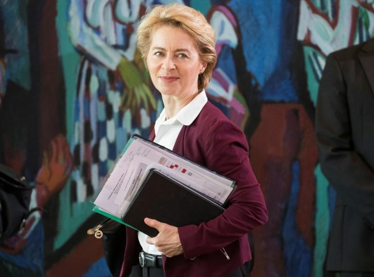 Von der Leyen would take office on November 1 -- the day after Britain is currently due to leave the bloc (AFP Photo/Odd ANDERSEN)