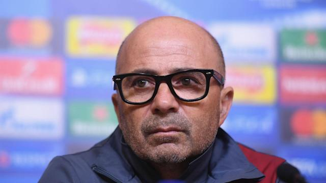 Jorge Sampaoli has been linked with taking over as Argentina's national team coach, but Sevilla are determined to keep him.