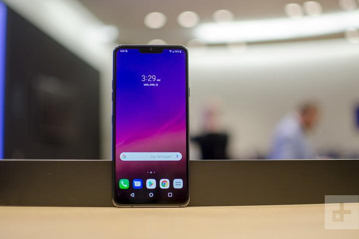 lg g7 thinq hands on home screen