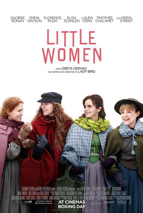 """<p>While <em><a href=""""https://www.countryliving.com/life/entertainment/a28690202/little-women-trailer-emma-watson-saoirse-ronan/"""" rel=""""nofollow noopener"""" target=""""_blank"""" data-ylk=""""slk:Little Women"""" class=""""link rapid-noclick-resp"""">Little Women</a> </em>spans the seasons, there are plenty of snow-covered winter and holiday scenes to make this film based on Louisa May Alcott's classic novel ideal for cozying up with. </p><p><a class=""""link rapid-noclick-resp"""" href=""""https://www.amazon.com/Little-Women-Emma-Watson/dp/B082WM1BG9/ref=sr_1_5?dchild=1&keywords=little+women&qid=1609259772&sr=8-5&tag=syn-yahoo-20&ascsubtag=%5Bartid%7C10050.g.25336174%5Bsrc%7Cyahoo-us"""" rel=""""nofollow noopener"""" target=""""_blank"""" data-ylk=""""slk:WATCH NOW"""">WATCH NOW</a></p>"""