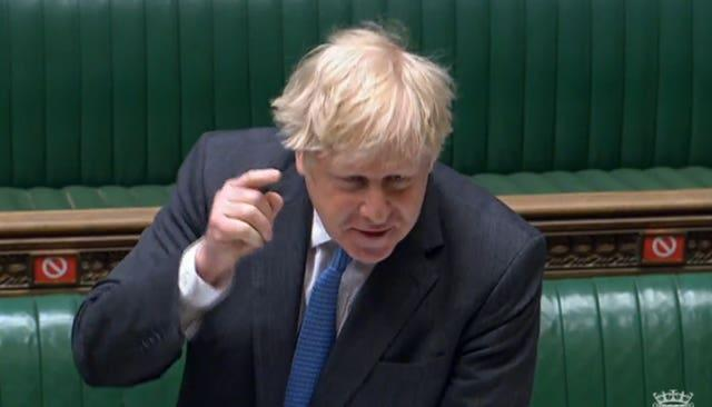 Boris Johnson was scrutinised at Prime Minister's Questions over the refurb costs