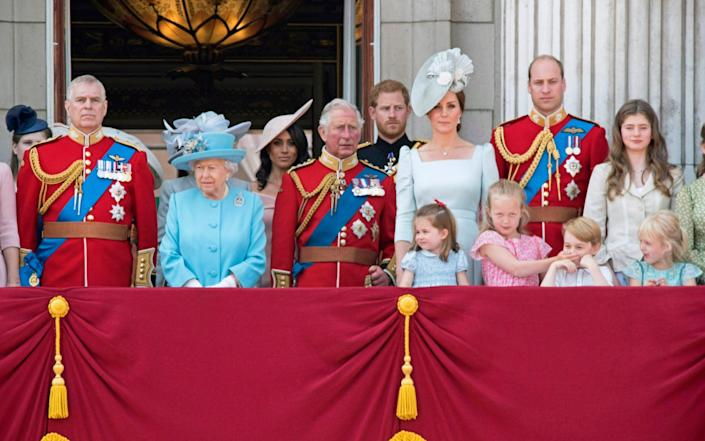 royal family tree who line succession inherit british throne lilibet baby meghan harry - FD