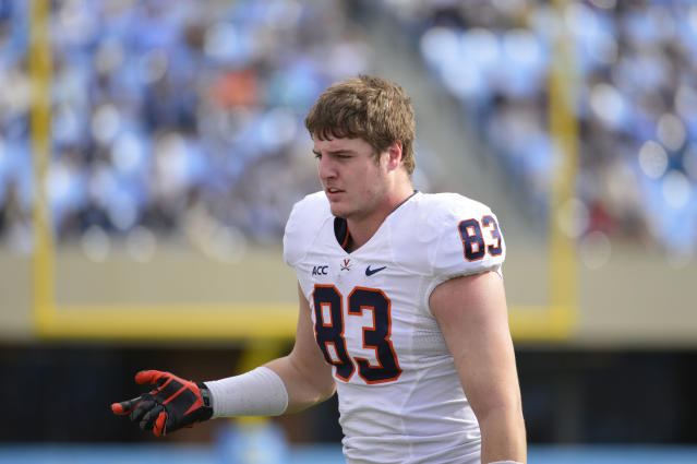 Jake McGee, Virginia's leading receiver in 2013, will transfer