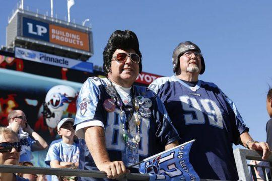 """Get fired up for """"exotic smashmouth"""" football, Titans fans. (Photo by Joe Robbins/Getty Images)"""