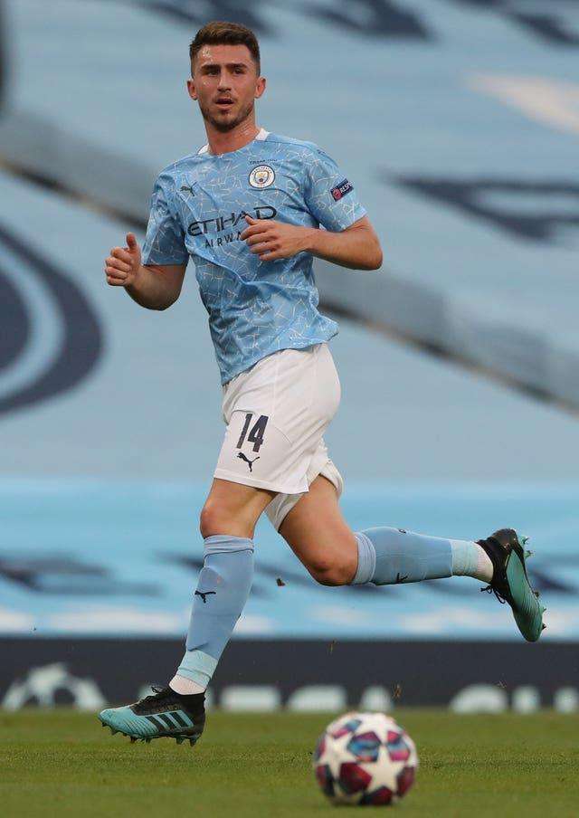 Aymeric Laporte has had a spell on the sidelines