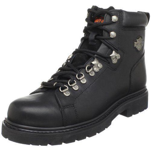 """<p><strong>HARLEY-DAVIDSON FOOTWEAR</strong></p><p>amazon.com</p><p><strong>$154.95</strong></p><p><a href=""""https://www.amazon.com/dp/B0007TMSV8?tag=syn-yahoo-20&ascsubtag=%5Bartid%7C2139.g.37131767%5Bsrc%7Cyahoo-us"""" rel=""""nofollow noopener"""" target=""""_blank"""" data-ylk=""""slk:BUY IT HERE"""" class=""""link rapid-noclick-resp"""">BUY IT HERE</a></p><p>For a motorcycle boot that bridges the gap between technicality and style, Harley-Davidson is the place to go. The Dipstick boot is perfectly understated but doesn't skimp on the necessities, like a Goodyear welt construction and durable leather.</p>"""