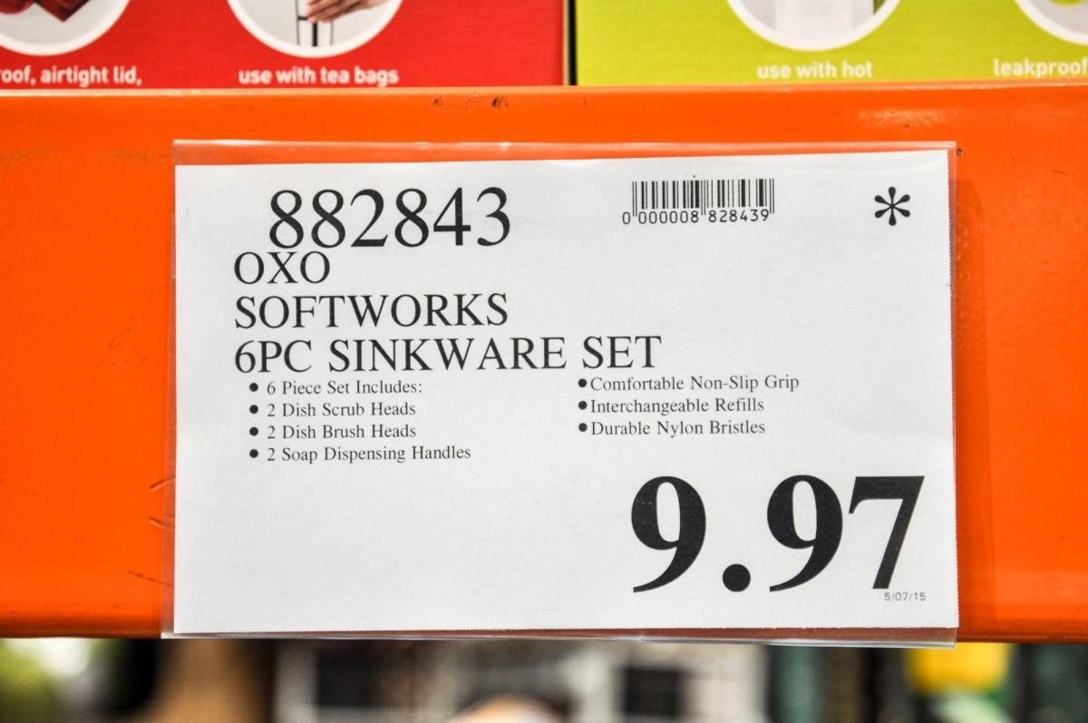 In Costco-speak, the asterisk means that product won't be getting a reorder. So when you see this symbol on the price tag of one of your favorite items, it's time to stock up!