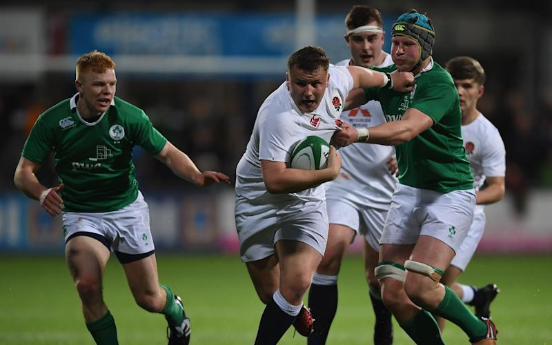 England's U-20s beat Ireland 14-10 on Friday night - 2017 Getty Images