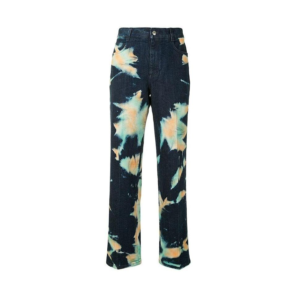 """<p><strong>Stella McCartney</strong></p><p>farfetch.com</p><p><a href=""""https://go.redirectingat.com?id=74968X1596630&url=https%3A%2F%2Fwww.farfetch.com%2Fshopping%2Fwomen%2Fstella-mccartney-acid-wash-loose-fit-jeans-item-15750950.aspx&sref=https%3A%2F%2Fwww.elle.com%2Ffashion%2Fshopping%2Fg35279952%2Fbest-fashion-on-sale-2021%2F"""" rel=""""nofollow noopener"""" target=""""_blank"""" data-ylk=""""slk:Shop Now"""" class=""""link rapid-noclick-resp"""">Shop Now</a></p><p><strong><del>$624</del> $312 (50% off)</strong></p><p>Being able to soon go to parties again calls for party pants. </p>"""