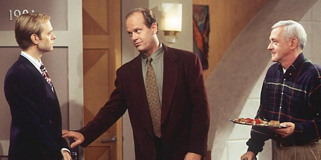 """Frasier's ensemble has an alchemy almost as ideal as that of its mothership, """"Cheers."""" (Photo: CBS Television Distribution)"""
