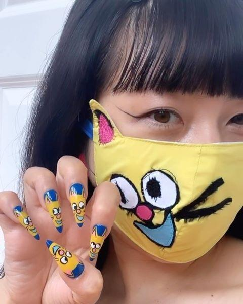 "<p>A cool-as-hell option from Nails by Mei, this cat face mask (it's custom made by <a href=""https://www.instagram.com/electromagnetic_studios/"" rel=""nofollow noopener"" target=""_blank"" data-ylk=""slk:Electro Magnetic Studios"" class=""link rapid-noclick-resp"">Electro Magnetic Studios</a>) and matching nail art is kiiiinda too cute <em>not </em>to try. Again, don't be afraid to enlist the help of a few nail stickers or press-ons if intricate nail art isn't really your thing.</p><p><strong>✨Try it with:</strong> <a href=""https://www.amazon.com/Phogary-Sheets-Sticker-Decoration-Manicure/dp/B07VL1XR2Z/?tag=syn-yahoo-20&ascsubtag=%5Bartid%7C10049.g.33623465%5Bsrc%7Cyahoo-us"" rel=""nofollow noopener"" target=""_blank"" data-ylk=""slk:Phogary 8 Sheets Cat Nail Sticker"" class=""link rapid-noclick-resp"">Phogary 8 Sheets Cat Nail Sticker</a> and <a href=""https://go.redirectingat.com?id=74968X1596630&url=https%3A%2F%2Fwww.etsy.com%2Flisting%2F814878428%2Fblack-cat-face-mask-with-filter-included&sref=https%3A%2F%2Fwww.cosmopolitan.com%2Fstyle-beauty%2Fbeauty%2Fg33623465%2Fface-mask-matching-nails-trend-2020%2F"" rel=""nofollow noopener"" target=""_blank"" data-ylk=""slk:Sunshine Shirt Co Black Cat Face Mask"" class=""link rapid-noclick-resp"">Sunshine Shirt Co Black Cat Face Mask</a></p><p><a href=""https://www.instagram.com/p/CAxxuySAjTW/"" rel=""nofollow noopener"" target=""_blank"" data-ylk=""slk:See the original post on Instagram"" class=""link rapid-noclick-resp"">See the original post on Instagram</a></p>"