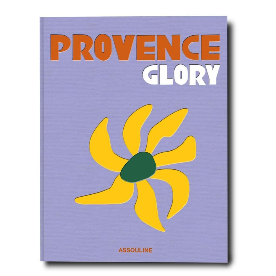 """<h2>Provence Glory Coffee Table Book</h2><br>Although mom may not be able to fulfill her South of France vacation fantasy anytime soon, she can still be transported by this stunning linen-covered coffee table book filled with over 300 pages of art and photos from Provence<br><br><strong>Assouline</strong> Provence Glory, $, available at <a href=""""https://go.skimresources.com/?id=30283X879131&url=https%3A%2F%2Fwww.assouline.com%2Fproducts%2Fprovence-glory"""" rel=""""nofollow noopener"""" target=""""_blank"""" data-ylk=""""slk:Assouline"""" class=""""link rapid-noclick-resp"""">Assouline</a>"""