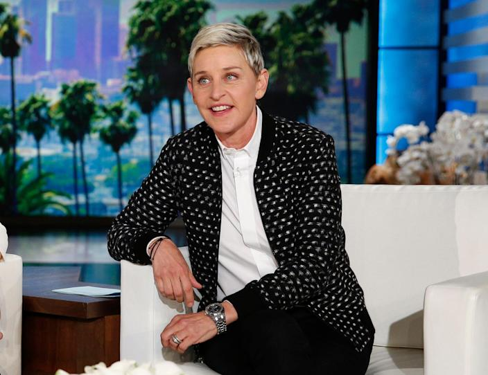TV Ellen DeGeneres (Copyright 2016 The Associated Press. All rights reserved. This material may not be published, broadcast, rewritten or redistribu)
