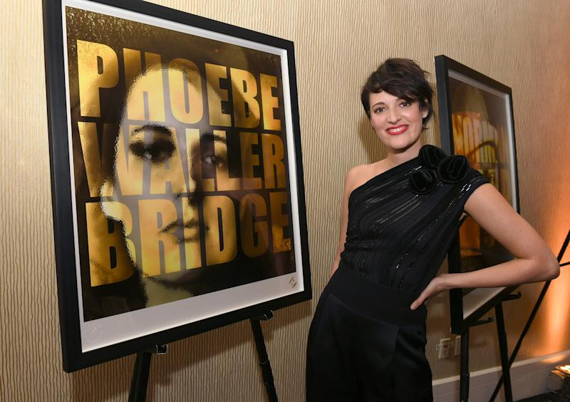 BEVERLY HILLS, CALIFORNIA - OCTOBER 25: Phoebe Waller-Bridge attends the 2019 British Academy Britannia Awards presented by American Airlines and Jaguar Land Rover at The Beverly Hilton Hotel on October 25, 2019 in Beverly Hills, California. (Photo by Kevin Winter/BAFTA LA/Getty Images for BAFTA LA)
