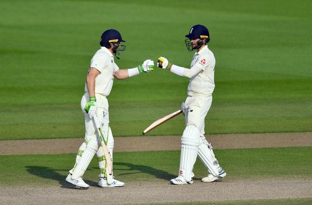 England's Chris Woakes and Jos Buttler's batting partnership all but secured victory for England against Pakistan