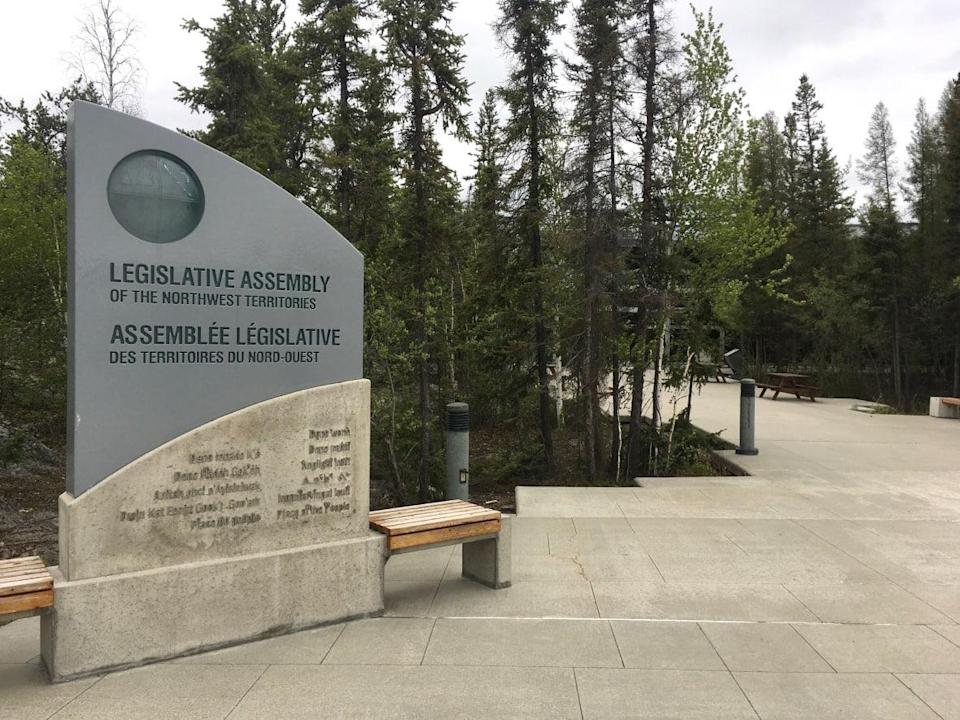 Dr. Kami Kandola, the N.W.T.'s chief public health officer, announced on Sunday there are six confirmed and two probable COVID-19 cases involving people who were at the N.W.T. Legislative Assembly building in Yellowknife last week. (Sara Minogue/CBC - image credit)
