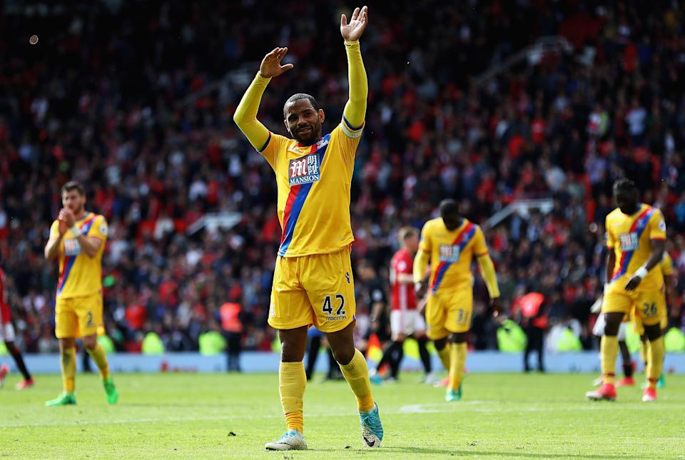 Puncheon has been ever-present for Crystal Palace since he joined the club
