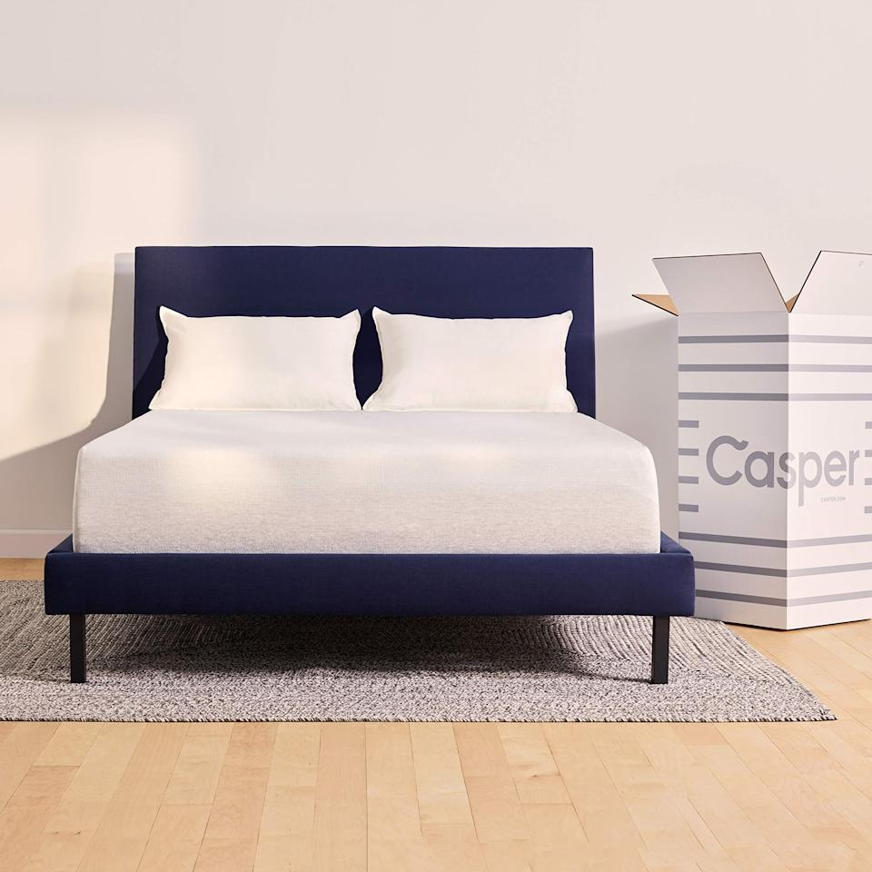 """<h3><a href=""""https://www.wayfair.com/brand/bnd/casper-sleep-b53457.html"""" rel=""""nofollow noopener"""" target=""""_blank"""" data-ylk=""""slk:Casper Sleep Wave Mattress"""" class=""""link rapid-noclick-resp"""">Casper Sleep Wave Mattress</a></h3><br><strong>Mattress Type: </strong>Foam<br><strong>Sleeper Style: </strong>Side<br><strong>Pros: </strong>Breathability<br><strong>Cons: </strong>Pressure Relief<br><br>""""I'd never owned a foam mattress prior to this test, having only ever slept as a guest on a Tempur-Pedic type at my cousin's house. SO, I was jazzed to give Casper's newest five-layer foam style a go in my own space! The Wave is built to provide contour support and temperature regulation — two things that I, the sweaty side sleeper, desperately needed from my ideal best mattress buy.""""<br><br>""""When it arrived the entire process was very white-glove with the delivery guy staying to help unbox and properly set up the mattress on my bed (a feat I could not have accomplished alone, this thing is heavy AF). Once The Wave was unfurled from its compact packaging, I left it alone on my bed for a few hours to do its plump-up thing. There was no weird residual chemical smell and by bedtime, it was ready to go.""""<br><br>""""That first night was a little touch and go, as my body wasn't used to the whole contouring-foam feeling (which in certain side-sleeping positions put pressure on my hips and shoulders causing them to cramp). But, aside from that, it felt like I was sleeping on a breathable cushy cloud — that was even more amplified when I threw some super soft linen sheets on top of it.""""<br><br>""""Although the pressure issue persisted through the 30-day trial run, it helped give me the push I needed to convert myself into a back sleeper — a position where this mattress really shines support-wise. When I'm on my back, The Wave is everything you'd want in a mattress: soft-yet-firm, full-body supportive, and incredibly breathable for sweat-prone sleepers. Plus, when snoozing with a plus one, any oth"""