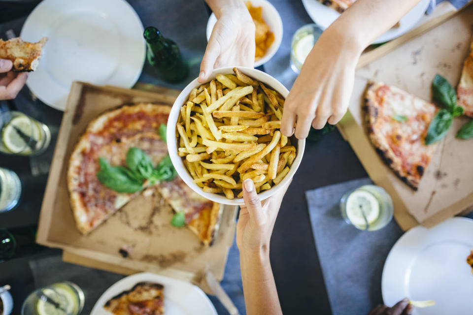 Processed food like chips and pizza can lead to an early death. [Photo: Getty]