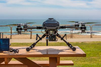 K2 Law Enforcement Tactical Drone with IMT Vislink Video Downlink Technology