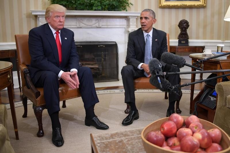 Donald Trump, President Obama have 'excellent' first meeting at White House