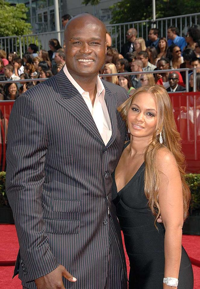 """Pinstripes were on parade at the ESPY. Grizzlies forward Antoine Walker opted for a more casual look. Stephen Shugerman/<a href=""""http://www.gettyimages.com/"""" target=""""new"""">GettyImages.com</a> - July 16, 2008"""