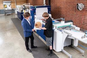 Elite Print Finishing recently installed Konica Minolta's MGI JETvarnish 3D digital embellishment press to diversify its capabilities, and has already seen its commercial business grow by having this offering.