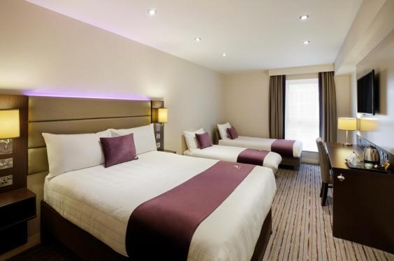 Double rooms at the Premier Inn Bank (Tower)