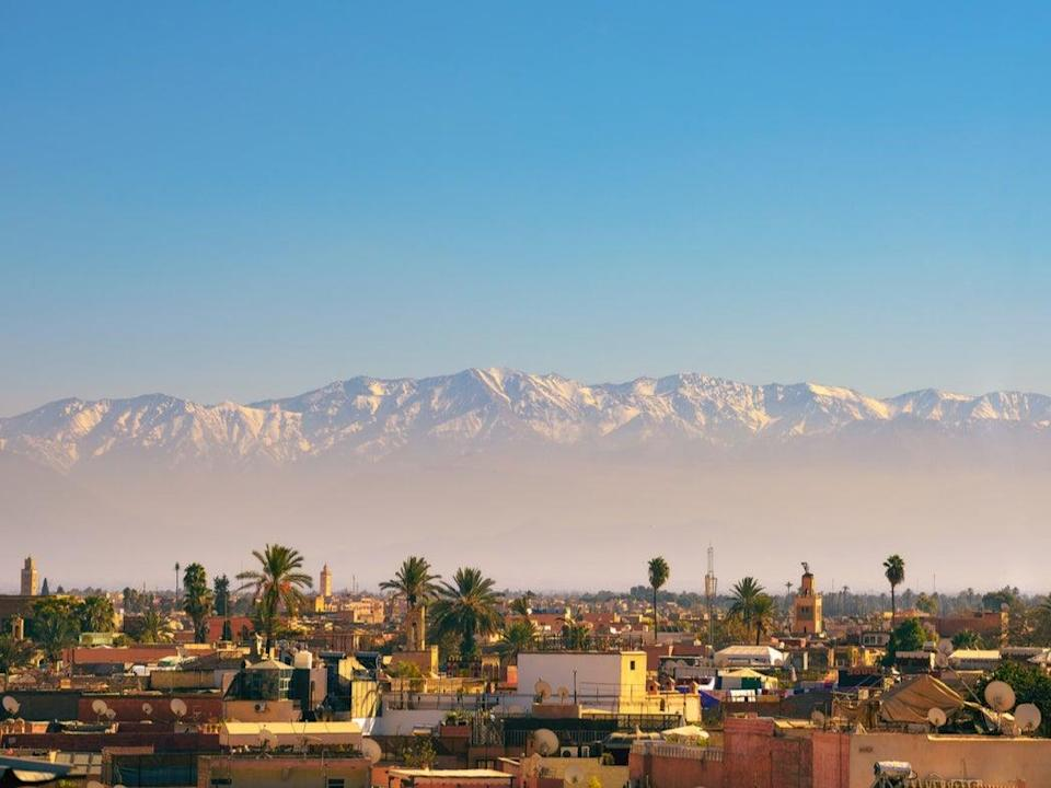 Marrakech in Morocco is open to international tourists again (Getty Images/iStockphoto)